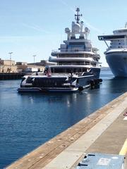 The 378-foot yacht Luna has been moored in recent weeks at the Port of Seattle's Pier 91 and Pier 90, where it caught the attention of Magnolia residents. The yacht belongs to Roman Abramovich, a wealthy Russian.
