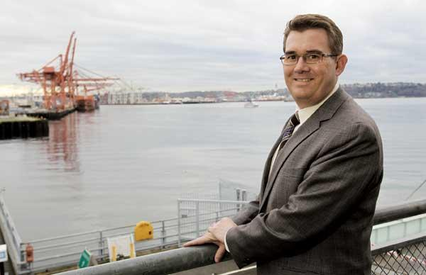 As director of the Washington Public Ports Association, Eric Johnson advocates for the state's 75 port districts in the state Legislature, seeking support for the investments needed to help the state stay competitive in global trade.
