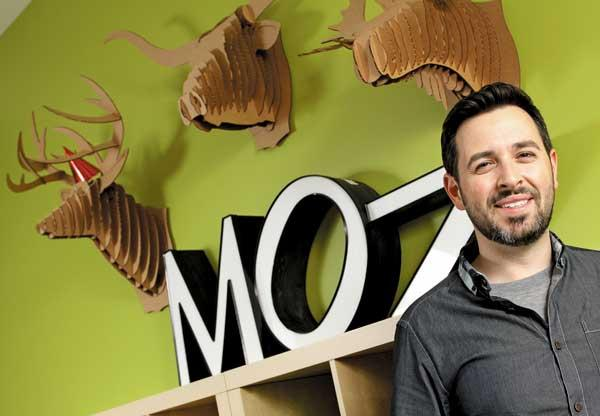 """SEOmoz CEO Rand Fishkin announced Wednesday the company is dropping the """"SEO"""" from its name and will now just be Moz."""