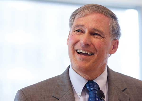 Washington Gov. Jay Inslee has begun stridently supporting current plans for the proposed Columbia River Crossing.