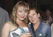 From left, actress Marya Sea Kaminski, costume designer Christine Meyers.