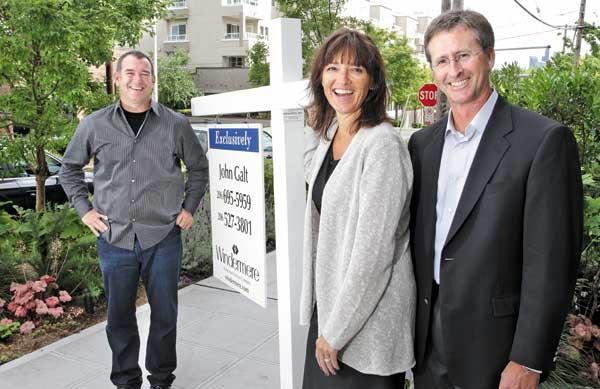 From left, O.B. Jacobi, his sister Jill Jacobi Wood and Jill's husband, Geoff Wood, are the second generation of the Jacobi family running Windermere, the family's half-billion-dollar real estate business with more than 7,000 agents.