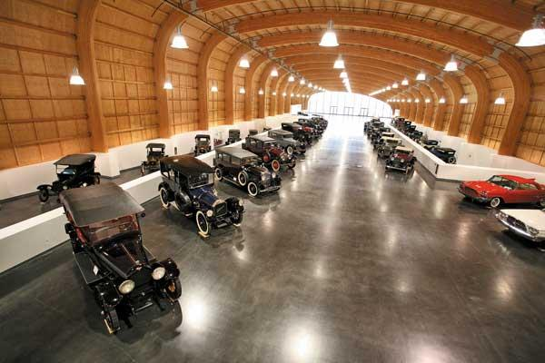 The LeMay–America's Car Museum, with its Grand Gallery (above), opens to the public on June 2. The museum may refine the display before the opening.