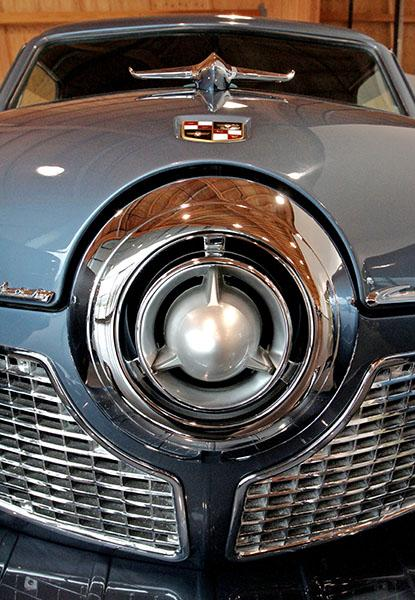 A 1951 Studebaker's grille shines at the LeMay-America's Car Museum in Tacoma, which is scheduled to open June 2.