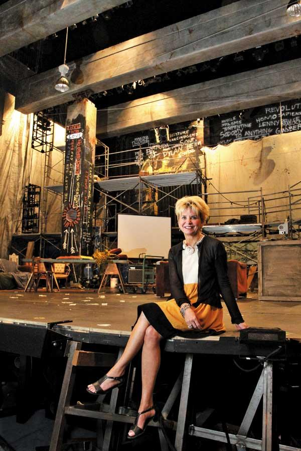 "Bernadine Griffin, managing director of the 5th Avenue Theatre, says the group's 7-month-old New Works program is partly designed to discover new stars among playwrights: ""It's about adding to the canon of musical theater, because we can't always do 'My Fair Lady.'"""