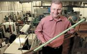 Bob Collett, Umbra Cuscinetti Inc., is doubling factory space.