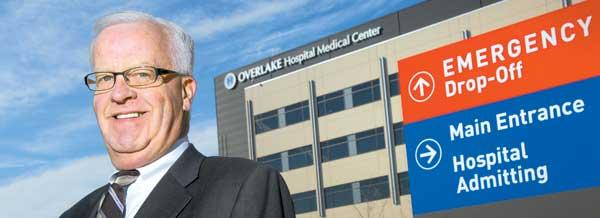 """Overlake has no plans to combine,"" hospital CEO Craig Hendrickson said."