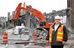 Viaduct job gives wrecking firm chance to show its strength