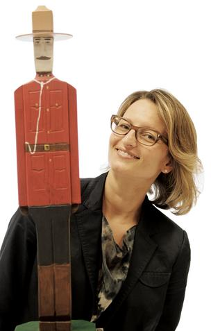 Julie Rezek's Mountie was a traditional parting gift from her boss at Wunderman Toronto, and it connects her to Canada.