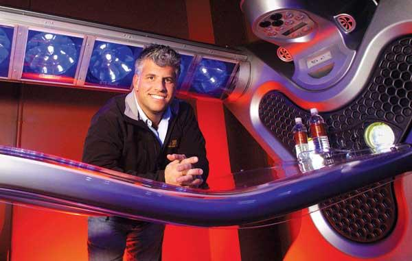 Scott Swerland now has 100 locations for his tanning studios.