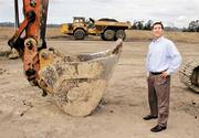 Arie Salomon, a principal with NAI Puget Sound Properties, helped broker a deal that resulted in the construction of a large distribution center in Sumner. It's the region's first speculative industrial project in about five years. The Benaroya Cos. is developing the warehouse and has agreed to sell it to Industrial Income Trust when it's completed early next year.