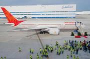 Boeing prepares to deliver the first South Carolina Dreamliner to Air India in October.