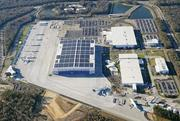 Here's an aerial view of Boeing's manufacturing campus near the Charleston International Airport in South Carolina. The plane maker is making moves that could mean potential expansion there.
