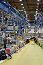 Boeing revamps 737 wing plant to speed up work and take on Airbus