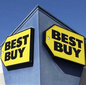 Best Buy Co. Inc. shares were up as much as 12 percent Monday on rumors that founder Richard Schulze was close to presenting a buyout offer to the company's board.
