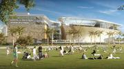 Rendering of the Frost Miami Science Museum, which is under construction near the Resorts World Miami site.