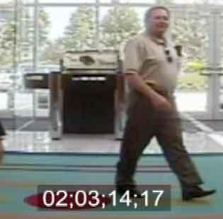 William Boockvor was caught on a security camera at a TD Bank branch.