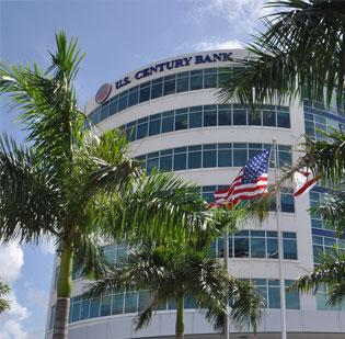 The legacy shareholders of U.S. Century Bank would retain 25 percent ownership under the recapitalization plan.