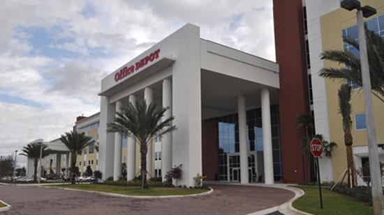 Office Depot's headquarters in Boca Raton.