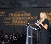 Kelly Smallridge, president of the Business Development Board of Palm Beach County.