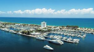 An aerial view of Bahia Mar as it currently looks.