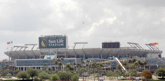 Sun Life Stadium in Miami Gardens was not selected as the venue for Super Bowl 50 or 51.
