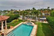 Pool and view from 8 S. Gordon Road in Fort Lauderdale