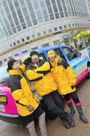 The CVB had taxis wrapped in London.