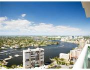 City view from penthouse No. 2801 at Las Olas Beach Club