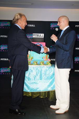 Richard Chwatt and Pitbull