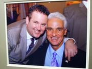 Charlie Crist attended Scott Rothstein's wedding at the former Versace mansion.