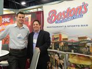 Paul Tripodes and Steve Osler of Boston's came from Dallas. The company has 53 locations in the U.S. and is looking to expand.