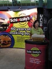 Lili Varela who handles marketing for Austin, Texas-based Schlotzsky's says the company is looking to make a comeback to the South Florida market.
