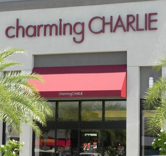 Next month, Charming Charlie plans a location at The Mall at Wellington Green, and another is slated to open this fall at the Palms at Town and Country in Miami.