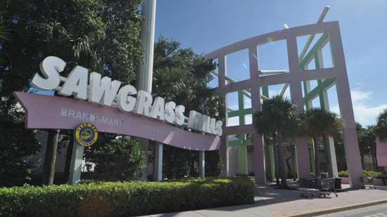 Sawgrass Mills in Sunrise has announced new retailers and a new eatery.