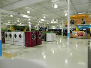 The hhgregg store at 1750 N. Federal Highway in Fort Lauderdale is 33,000 square feet. CEO Dennis May says 40 percent of the company's business is home theater and 40 percent is major appliances.