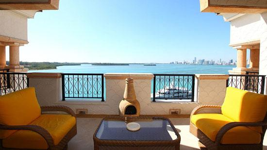 The penthouse at 5171 Fisher Island Drive, #5171, has been listed for $12.9 million.