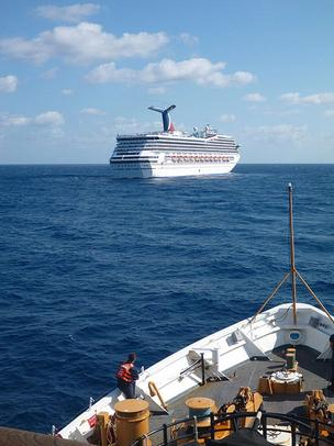 The U.S. Coast Guard determined that a fuel leak caused the fire that crippled the Carnival Triumph cruise ship.