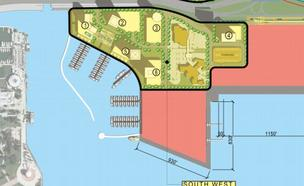 Office Space plan at PortMiami