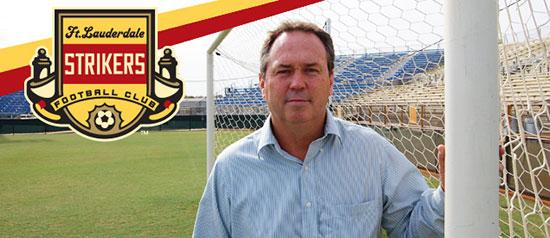 Tom Mulroy is the new president of the Fort Lauderdale Strikers, which will allow Tim Robbie to focus on getting renovations at Lockhart Stadium or other options for a new home.