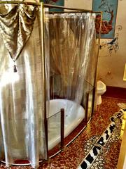 Gianni Versace was such good friends with Madonna that he supposedly built a bathtub at Casa Casuarina for her.