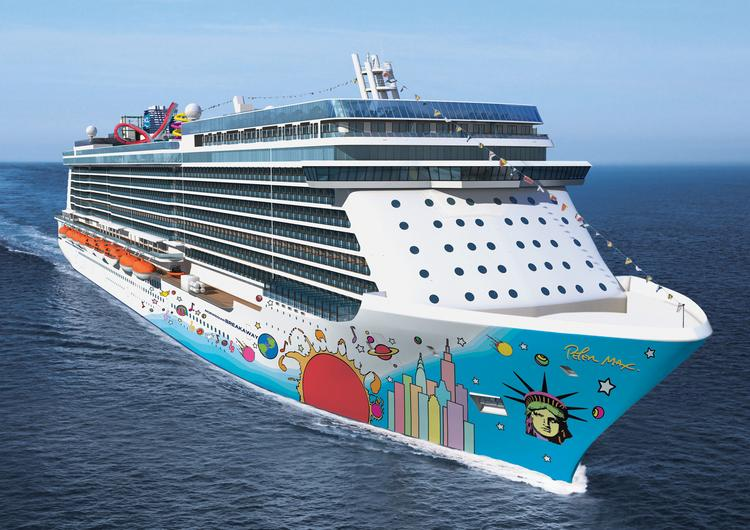 The Norwegian Breakaway is expected to be delivered next month.