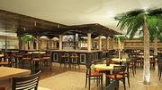 A rendering of what a restaurant on the Carnival Sunshine will look like.