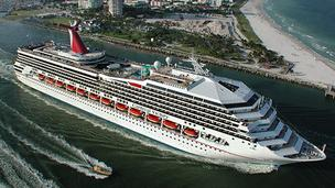 The Carnival Victory will depart PortMiami on a number of four- to five-day trips to the Caribbean in 2013.