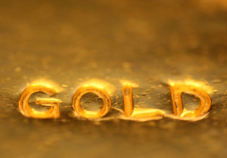 The price of gold dropped to a two-year low on Monday.