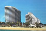 The owners of Ireland's Inn hope to develop 400,000 square feet of condominiums and hotels on the property, which is north of the Palms condominium on Fort Lauderdale's beach.