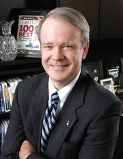 Brian E. Keeley, president and CEO of Baptist Health South Florida.