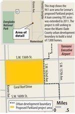 Lennar extends City National Bank loan on 781-acre Parkland site