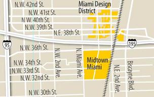 Design District map