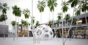 A concept for the Palm Courtyard in the Design District project.